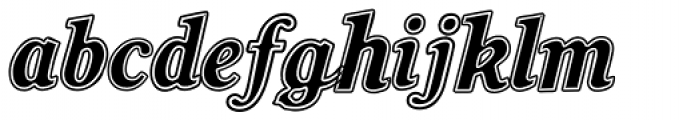 Soda Smooth Font LOWERCASE