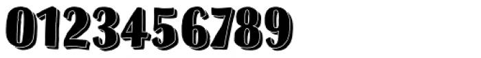 Sofa Sans Hand Black 3D Font OTHER CHARS