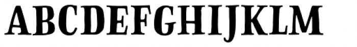 Sofa Serif Hand Bold Font UPPERCASE