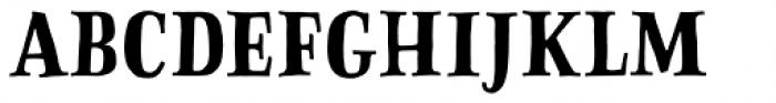 Sofa Serif Hand Bold Font LOWERCASE