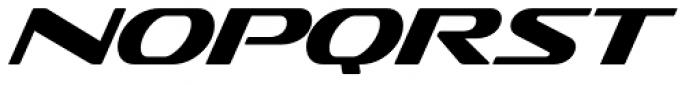 Sofachrome Book Italic Font LOWERCASE