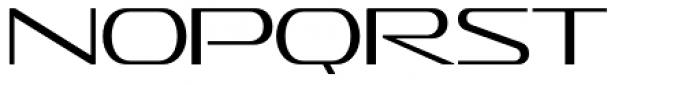 Sofachrome ExtraLight Font UPPERCASE