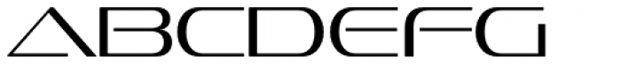 Sofachrome ExtraLight Font LOWERCASE