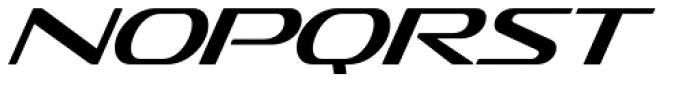Sofachrome Light Italic Font LOWERCASE