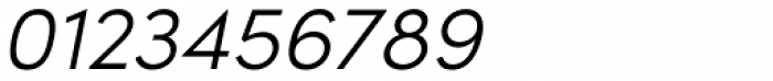 Sofia Pro Light Italic Font OTHER CHARS