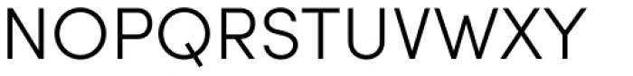 Sofia Pro Light Font UPPERCASE