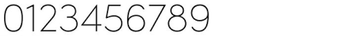 Sofia Pro UltraLight Font OTHER CHARS