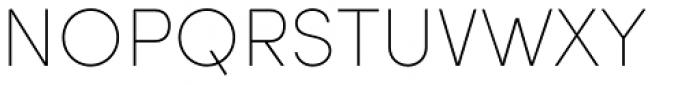 Sofia Pro UltraLight Font UPPERCASE