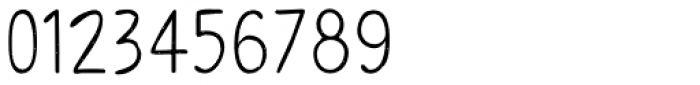 Sofia Rough Script Regular Font OTHER CHARS