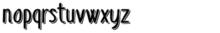 Sofia Rough Script Two Font UPPERCASE