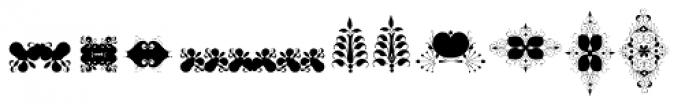 Soft Garden Five Font UPPERCASE