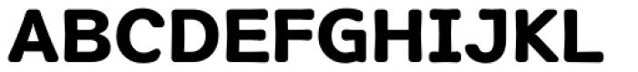 Soft Sans Bold Font UPPERCASE