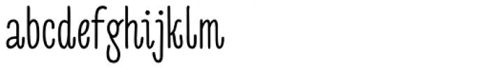 Sofya Font LOWERCASE