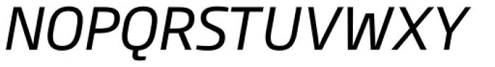 Soho Gothic Pro Italic Font UPPERCASE