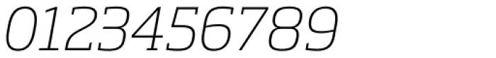 Soho Pro ExtraLight Italic Font OTHER CHARS