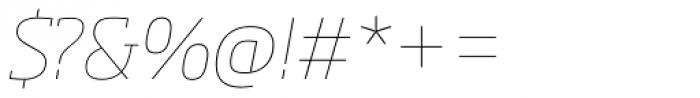 Soho Pro Thin Italic Font OTHER CHARS