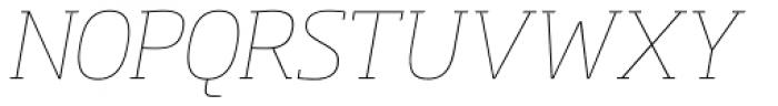 Soho Pro Thin Italic Font UPPERCASE
