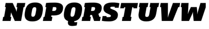 Soho Std Heavy Italic Font UPPERCASE