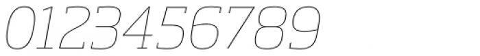 Soho Std Thin Italic Font OTHER CHARS