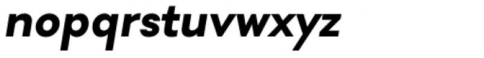 Soin Sans Bold Oblique Font LOWERCASE