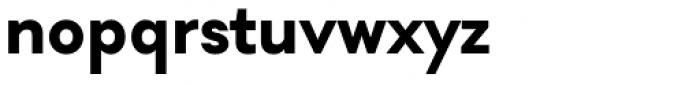 Soin Sans Bold Font LOWERCASE
