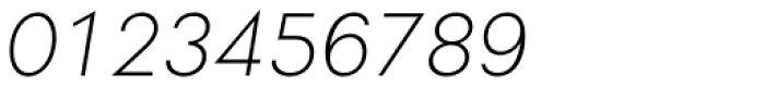 Soin Sans Light Oblique Font OTHER CHARS