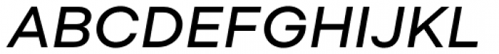 Soin Sans Neue Medium Italic Font UPPERCASE