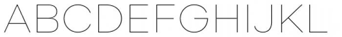 Soin Sans Neue Thin Font UPPERCASE