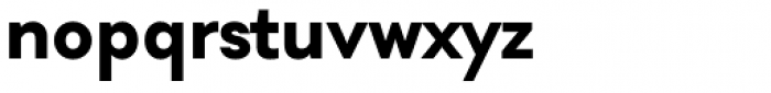 Soin Sans Pro Bold Font LOWERCASE