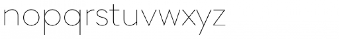 Soin Sans Pro Thin Font LOWERCASE