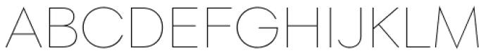 Soin Sans Thin Font UPPERCASE