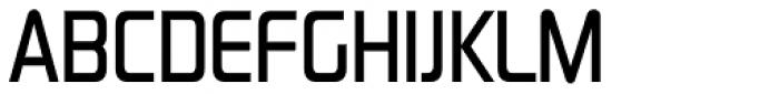 Sol Pro Condensed Medium Font UPPERCASE