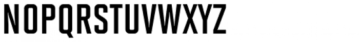 Solano Gothic MVB Bold Cap Font LOWERCASE
