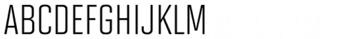Solano Gothic MVB Cap Font UPPERCASE