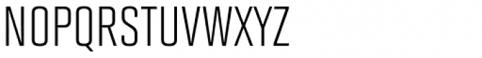 Solano Gothic MVB Cap Font LOWERCASE