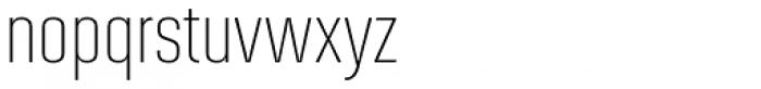 Solano Gothic MVB Light Font LOWERCASE