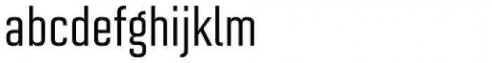Solano Gothic MVB Med Font LOWERCASE