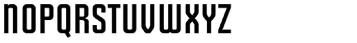 Solano Gothic Retro MVB Bold Cap Font LOWERCASE
