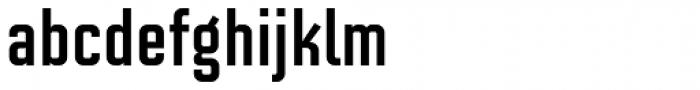 Solano Gothic Retro MVB Bold Font LOWERCASE