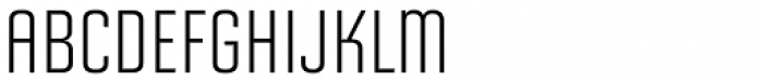 Solano Gothic Retro MVB Cap Font UPPERCASE