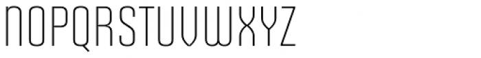Solano Gothic Retro MVB Light Cap Font UPPERCASE