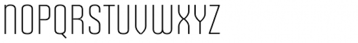 Solano Gothic Retro MVB Light Cap Font LOWERCASE