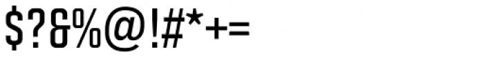 Solano Gothic Retro MVB SemiBold Cap Font OTHER CHARS