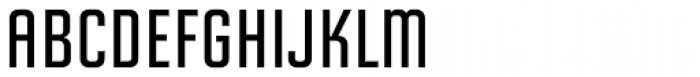 Solano Gothic Retro MVB SemiBold Cap Font LOWERCASE