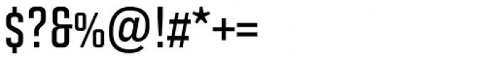Solano Gothic Retro MVB SemiBold Font OTHER CHARS