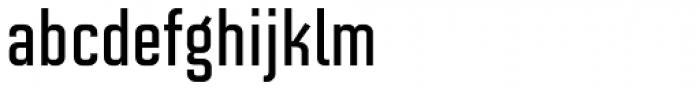 Solano Gothic Retro MVB SemiBold Font LOWERCASE