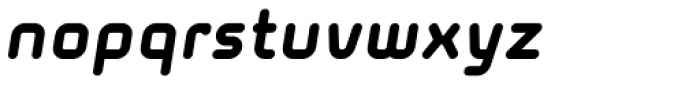 Solaris EF Black Oblique Font LOWERCASE