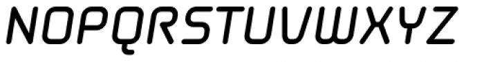 Solaris EF Bold Oblique Font UPPERCASE