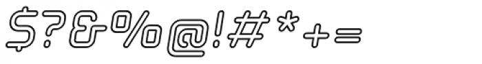 Solaris EF Inline Oblique Font OTHER CHARS
