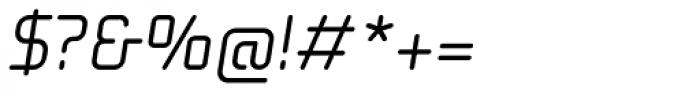 Solaris EF Regular Oblique Font OTHER CHARS